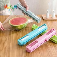 New Good Household Cling Film Cutter With Stainless Steel Blade Wrap Dispenser Preservative Foil Film Cutter