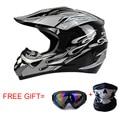 Classic Motocross Helmets ATV MTB Racing helmet Motorcycle downhill bike helmet Fuera de la carretera casco+ goggles+mask