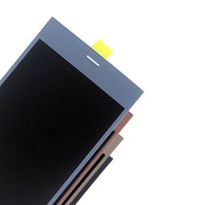 Image 3 - Para Sony Xperia XZ1 G8341 G8342 Monitor LCD Digitador Assembléia Vidro Sony Xperia XZ1 Exibição do Monitor LCD Frete grátis