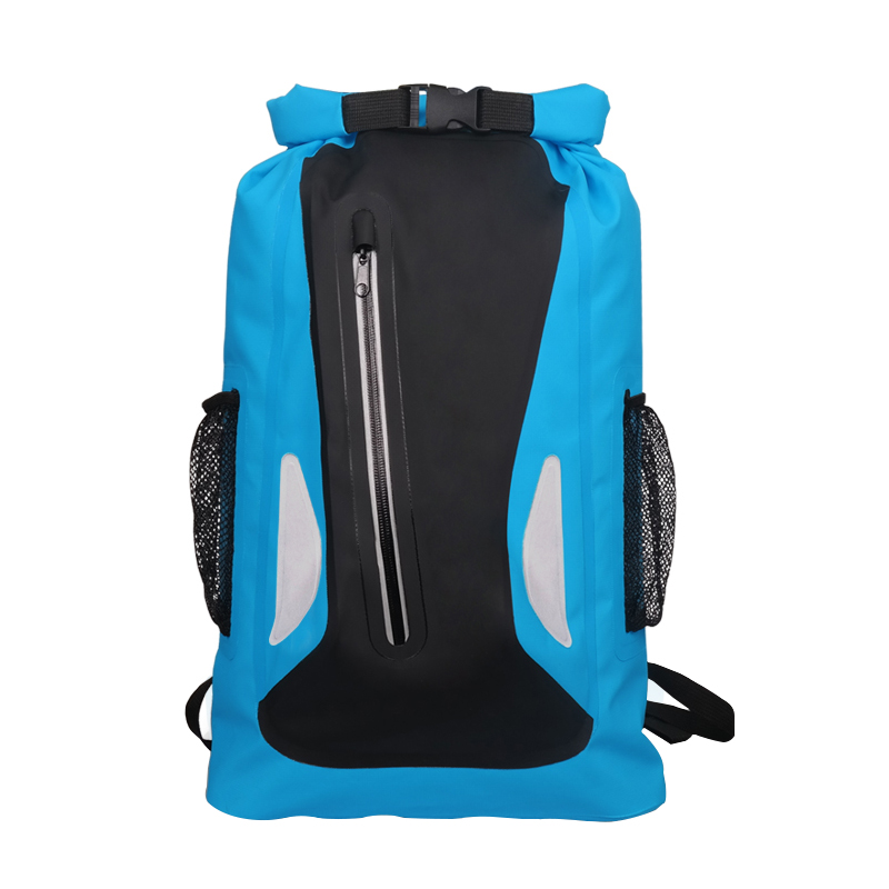 25L Outdoor River Trekking Backpack Waterproof Bag Camping Hiking Backpacks Dry Bag Drifting Swimming Bags Double Shoulder Strap