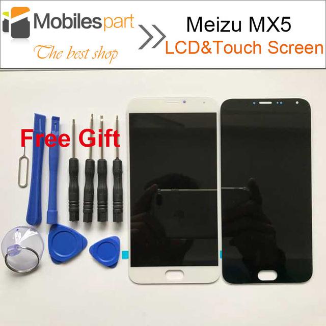 Para tela de lcd meizu mx5 nova substituição display lcd + conjunto de tela de toque de alta qualidade para meizu mx5 5.5 polegadas de smartphones