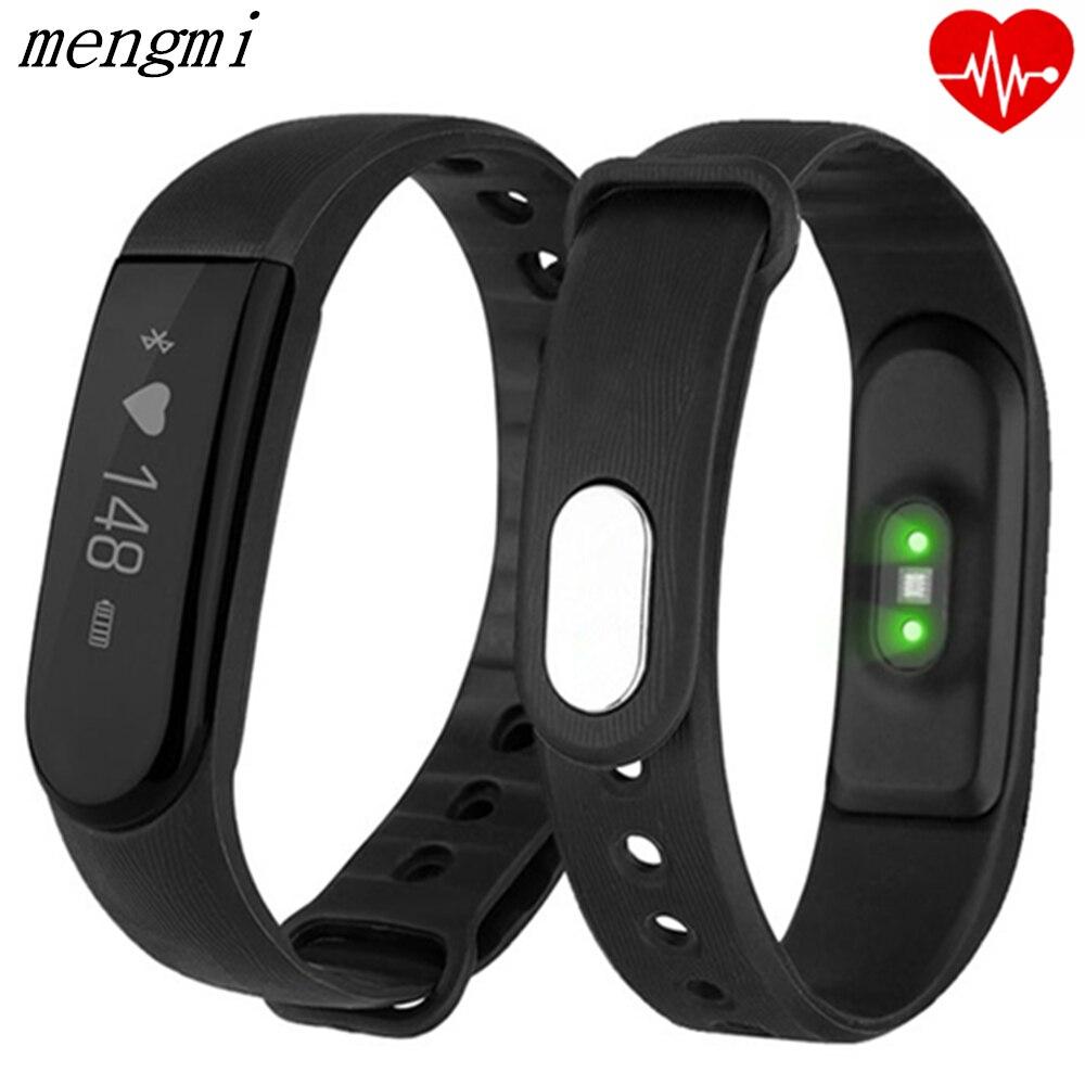 imágenes para ID101 Pulsera Inteligente Paso Podómetro Sleep Monitor de Ritmo Cardíaco Rastreador Rastreador Salud Pulsera Inteligente para IOS andriod Inteligente Banda