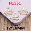 Envío Gratis 50 UNIDS Princess Royal Crown Encantos DIY Cadena de Teléfono Llavero Pulsera Collar de Prendas de Vestir Bolsa Pendiente Colgante Encantos
