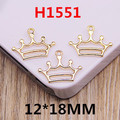 Free Shipping 50PCS Princess Royal Crown Charms DIY Phone Chain Keyring Bracelet Necklace Bag Garment Earring Pendant Charms