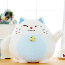 цены Lucky Cat Plush Toy Doll Cute Bear Cushion Totoro Plush Toys Pillow Children's Doll Gift Birthday Christmas Gift