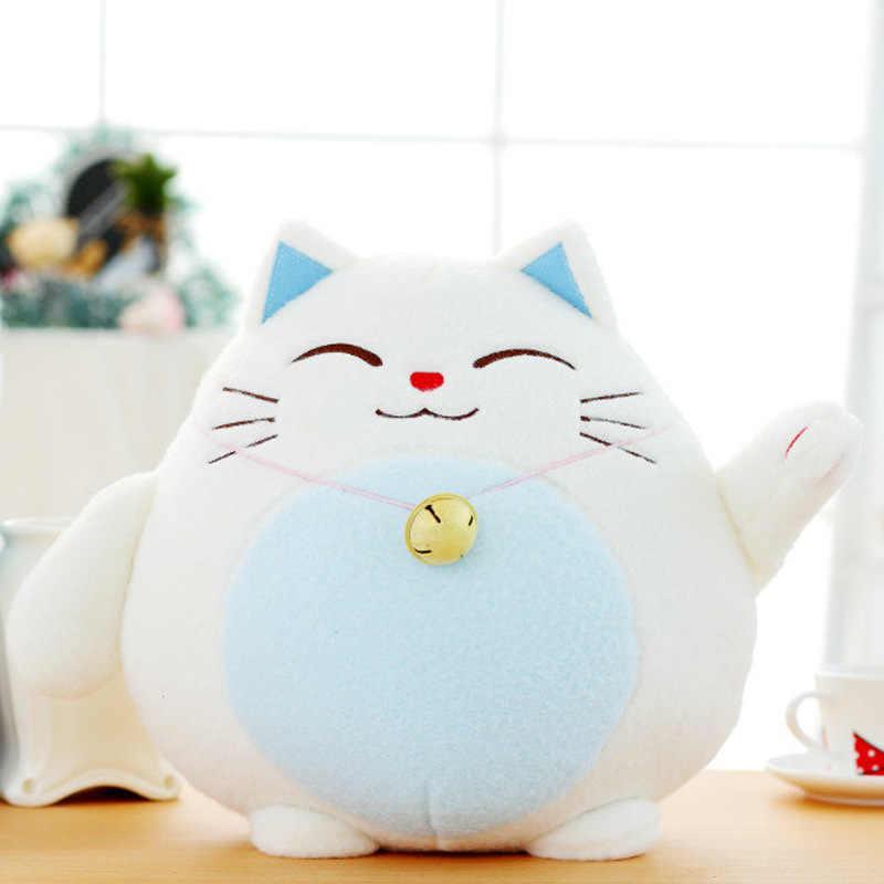 Lucky Cat плюшевая игрушка кукла милый медведь Подушка Тоторо Плюшевые игрушки Подушка Детская кукла подарок на день рождения Рождественский подарок