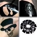 10pcs Randomly ship Body Paint Henna Tattoo Stencils For Airbrush paint Henna cone Tattoo Templates Aerograph Sexy Cool