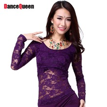 Dance Dress 1 Piece Bellydance Top Free Size Silk Fan Dance Clothes Belly Dance Set Free