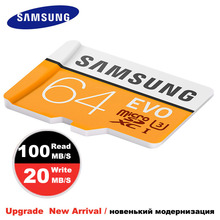SAMSUNG Micro SD card Memory Card 64GB EVO 32GB Class10 High speed TFmini sim Memoria Card 100MB/S micro sd 64gb SDHC/SDXC UHS-1