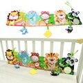 Cuna alrededor y libros de tela con modelo animal encantadora del bebé toys para cuna yyt504-yyt505