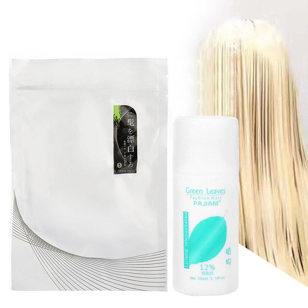 Dye-Cream Hair-Dye Permanent Salon Punk Harajuku DIY Non-Toxic White Fashion 100ML