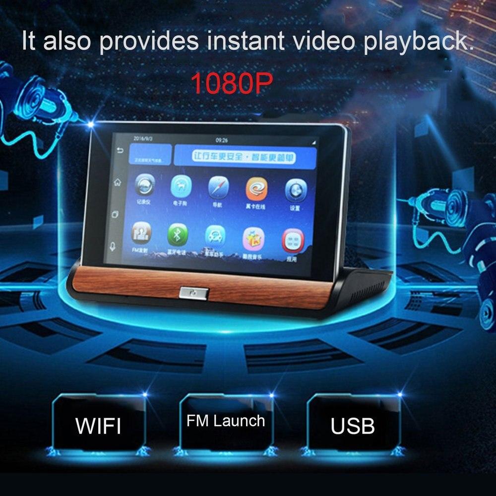 Für FHD 1080P 7 zoll 3G Auto-Dashboard GPS Navigation WiFi Hotspot Kamera Recorder Rückansicht DVR für android 5.0