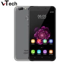 Оригинал Oukitel U20 Плюс Двойная Камера Мобильного телефона 5.5 «IPS FHD 1080 P MTK6737T Quad Core 13MP 3200 мАч Отпечатков Пальцев ID Смартфон