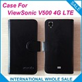 For ViewSonic V500 4G Case,Luxury Leather Wallet Design Flip Leather Exclusive Cover For ViewSonic V500 4G tracking