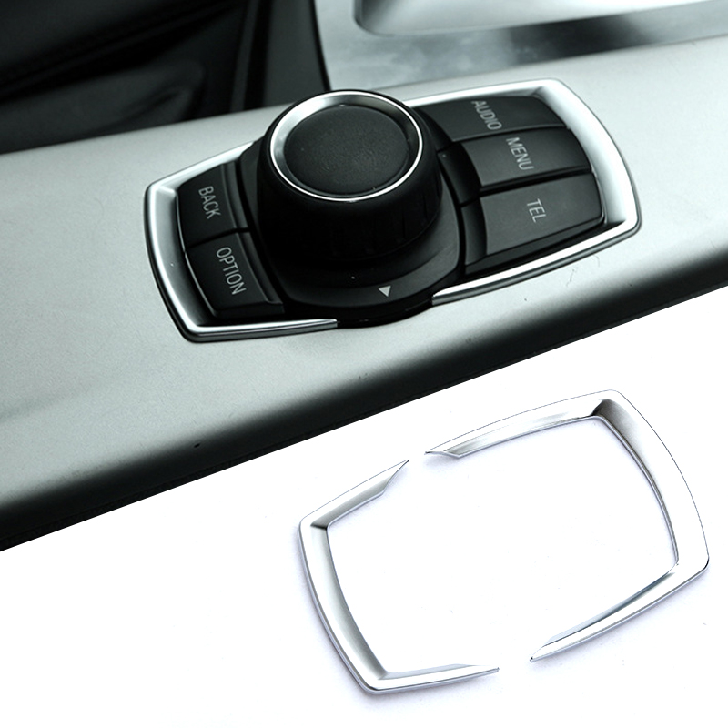 Interior refit multimedia buttons Cover Car Accessories For <font><b>BMW</b></font> <font><b>GT</b></font> 1 <font><b>series</b></font> 2 <font><b>series</b></font> <font><b>3</b></font> <font><b>series</b></font> 4 <font><b>series</b></font> image