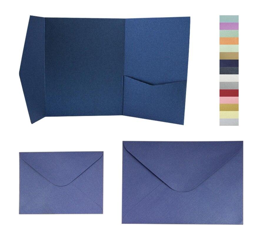 หลายสี 25 ชิ้น/ล็อต SIGNATURE กระเป๋าซองจดหมายพร้อมซองจดหมายชุดจัดส่งฟรี