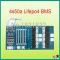 4S 50A lifepo4 12.8 V 26650 18650 proteção da bateria BMS PCM 4S placa 4S com balanceamento bms pcm para lifepo4 célula de bateria pack