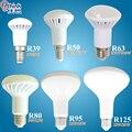 NOVA R39 R50 R63 R80 levou luz E14 E27 conduziu a lâmpada 3 W 5 W 7 W 9 W ac 220 v 230 v 12 W 15 W 20 W R80 R95 R125 lâmpadas led branco quente fria luz