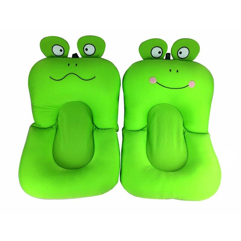 Soft font b Baby b font Bath Mat Anti slip Shower Cushion Cartoon Frog Shape Bathtub