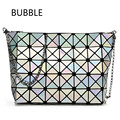 HS RHYME Fold over Baobao handbags Crossbody bag women pearl bao bao bag laser sac Diamond Lattice geometry Quilted shoulder bag