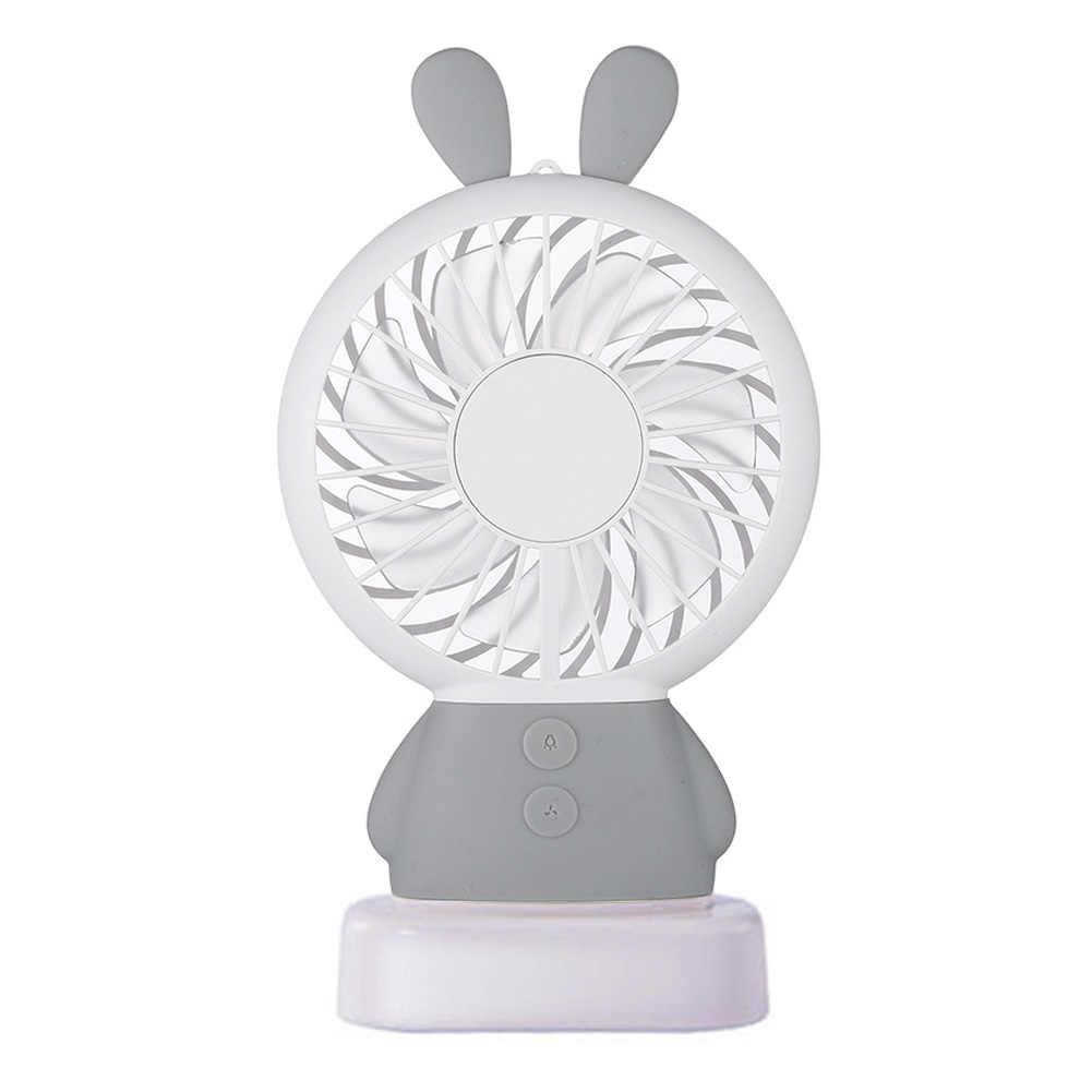 Изысканный забавный кролик Dharma Медведь Портативный мини вентилятор