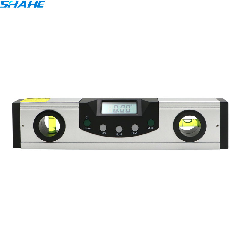 200mm Laser Digital Level Laser Spirit laser level measuring laster range 360 digital spirit level with laser цены