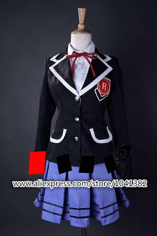 Date un cosplay en direct un cerf-volant origami cos tous se tiennent à zen lycée uniforme vêtements toute taille