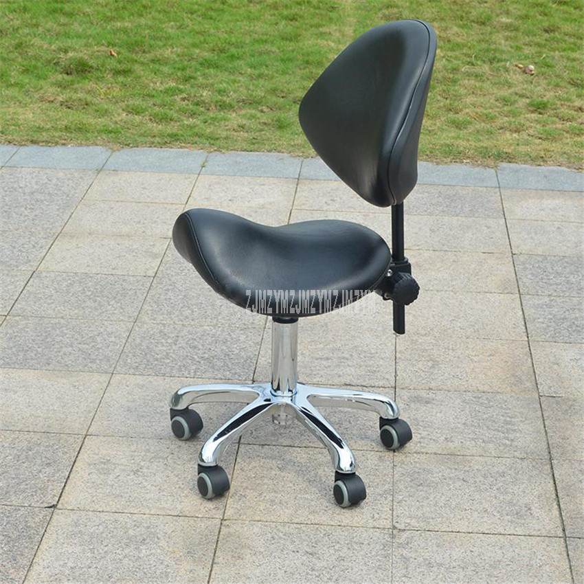 Professional Saddle Seat Beautician Chair Height Adjustable Hairdressing Styling Beauty Hair Salon Dedicated Lifting Chair