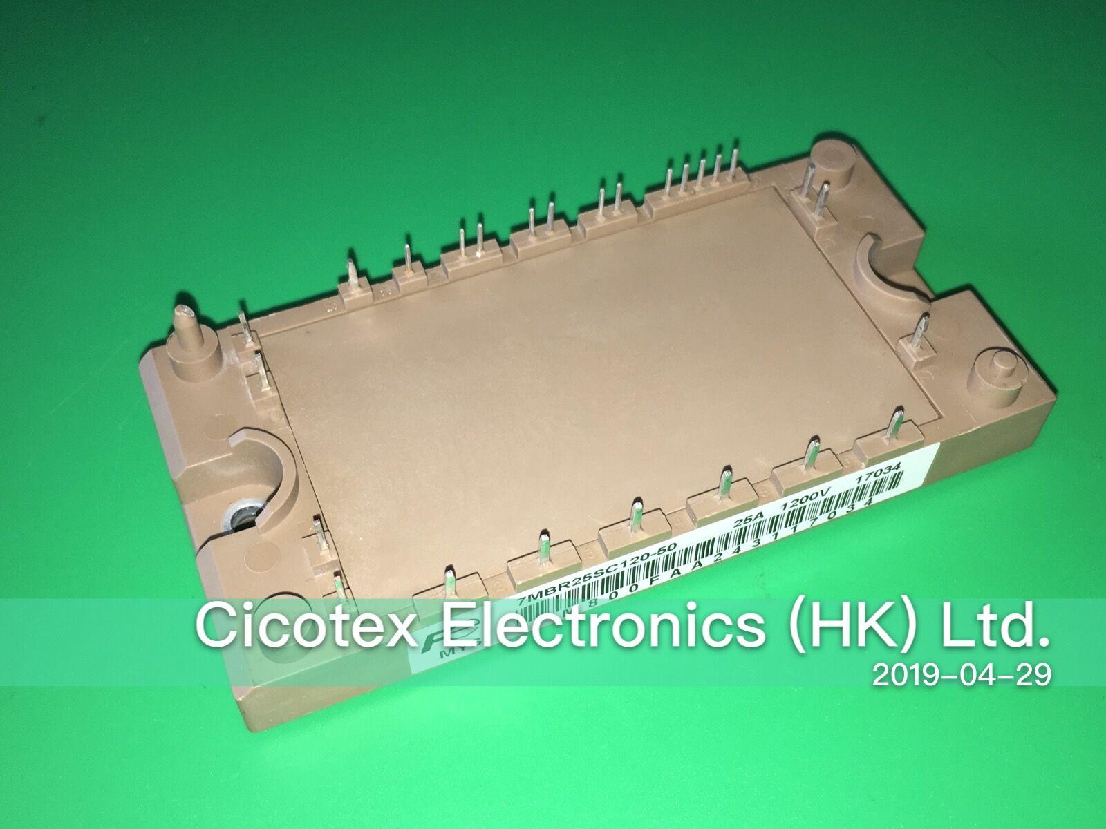 7MBR25SC120-50 25SC120 MMODULE IGBT PIM/convertisseur intégré avec thyristor et frein (série S) 1200 V 25A PIM 7MBR25SC12050