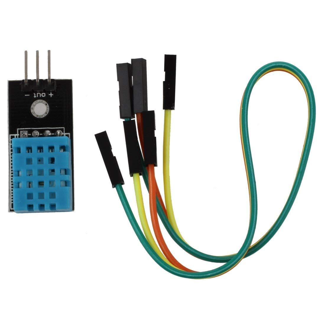 DHT11/DHT22 Digital Temperature Humidity Sensor Module For Arduino Compatible SCM & DIY Kits Compatible SCM Components Pakistan