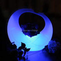 Waterproof Color changing rechargeable Bird White Swan LED Night Mood Light outdoor garden lawm decoration lighting
