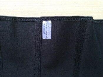 steel boned latex bustier corset waist gothic corset leather sexy dessous long belt underwear lingerie women tops plus size99008 5