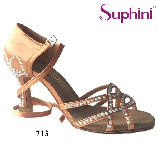 FREE SHIPPING Beautiful Latin Shoes Woman Dance Shoes New Designed Latin Suphini Latin Dance Shoes Crystal Dance Shoes free shipping top selling new trendy trends dance shoes silver new mesh high heel 3 inch latin dance shoes