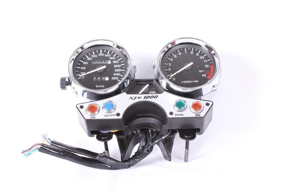 LOPOR Moottoripyörän mittarit Cluster-nopeusmittari 260 km / h - Moottoripyörän tarvikkeet ja osat