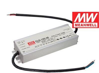 MeanWell 96 W 36 V Sortie Unique de Commutation D'alimentation IP67 Étanche LED Driver avec PFC fonction CLG-100-36 CE UL approuvé
