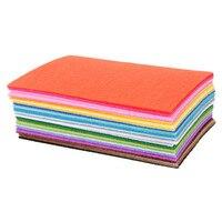 40Pcs 30 30CM Sewing Doll Nonwoven Fabric Craft DIY Polyester Felt Bundle Sheets