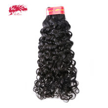 Ali Queen Brazilian Water Wave Virgin Hair Products Human Hair Weave 1 Bundles Can Colored 613# Free Shipping Salon Hair(China)