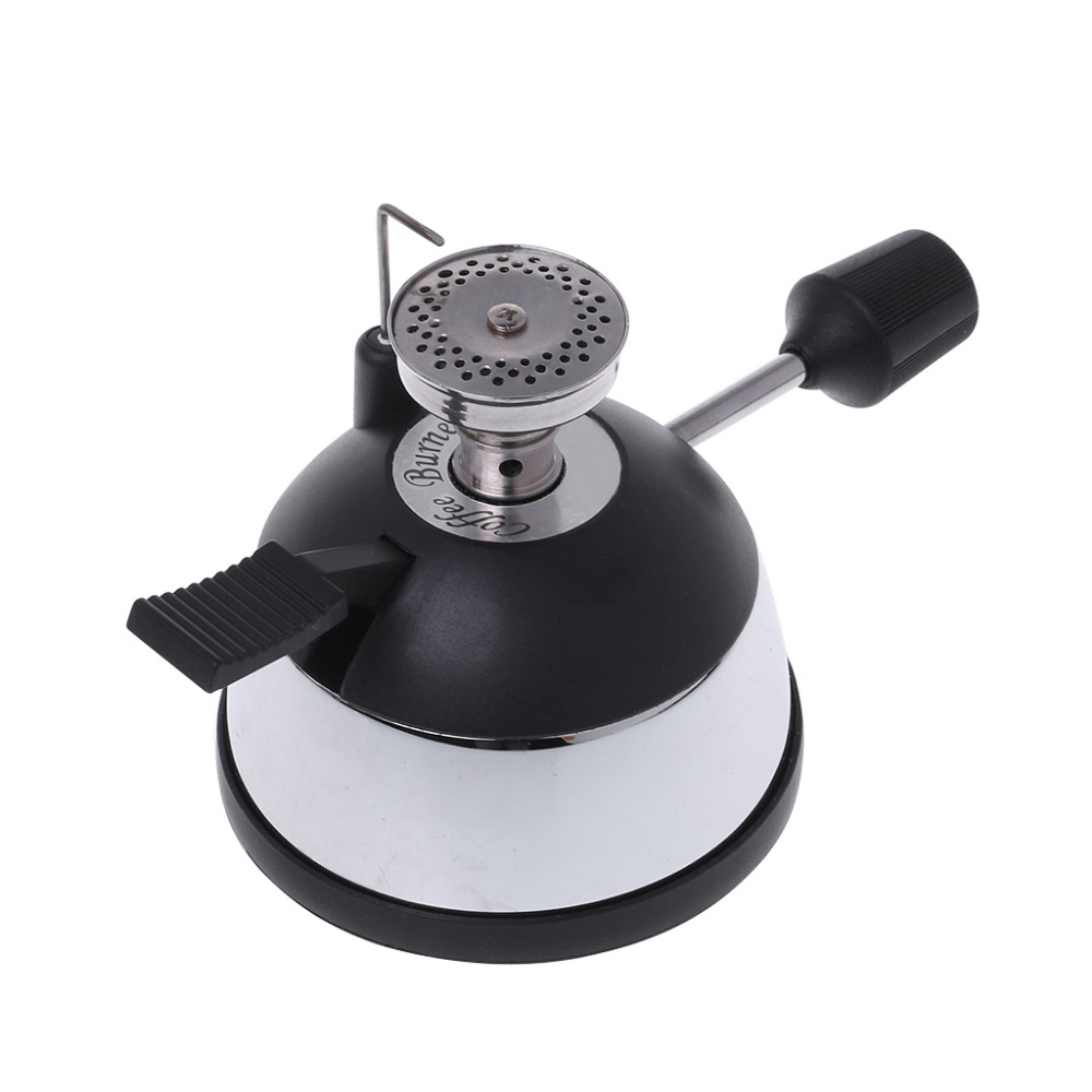 Mini Tabletop Butane Gas Burner With Ceramic Flame Head For Siphon Syphon Hario Coffee Heater Maker