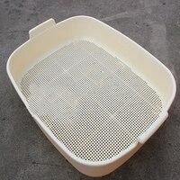Лоток для мусора ящик для кабеля туалет для домашних животных тренировочный стикер пластиковый дом для собак инструменты для чистки кошек