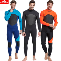 3f3b8a4804d6ca Sbart New Neoprene 3mm Diving Suit Warm Long Sleeve Men Scuba Wetsuit  Prevent Jellyfish Snorkeling Triathlon