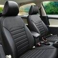 Asiento de coche de cuero de la pu cubiertas para Peugeot 301 207 307 2008 308 408 508 3008 208 4008 RCZ 308 S VR6 multivan Caddy Combi Golf GTI CC