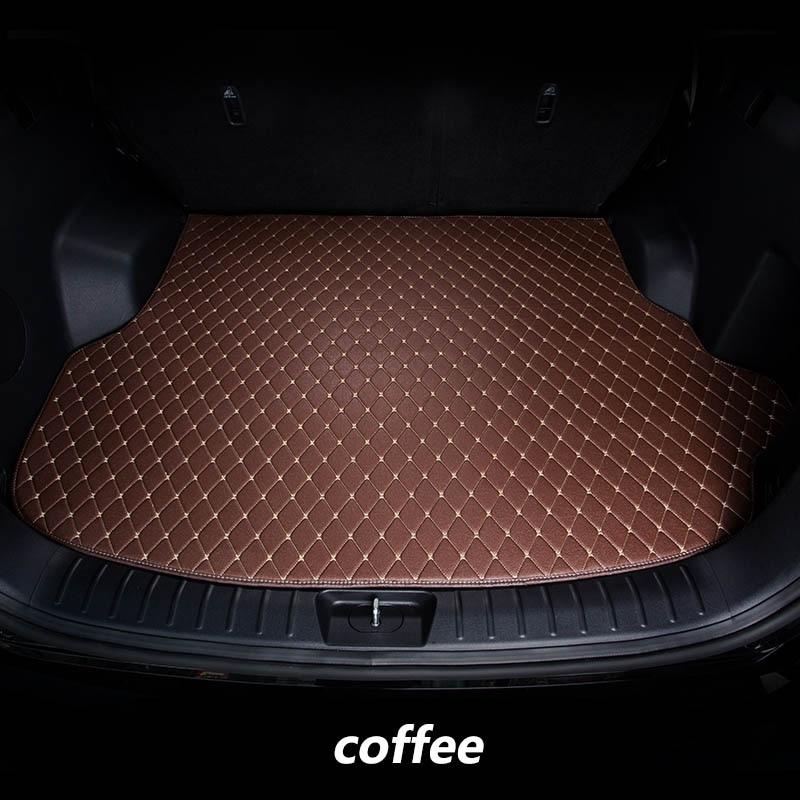 kalaisike Custom car trunk mats for Nissan all model qashqai tiida Murano March Teana quest Patrol