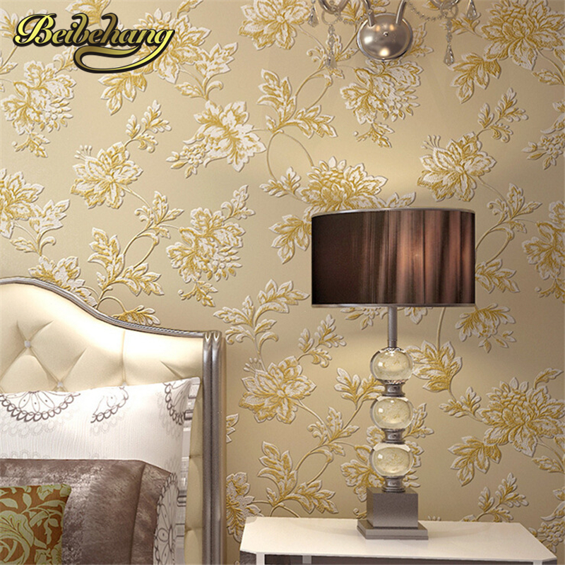beibehang wall paper High-end non-woven wallpaper European garden bedroom background living room 3D three-dimensional sculpture потолочная люстра demark 464017206