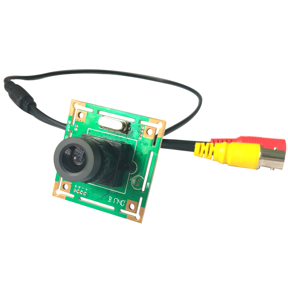 CCTV 700TVL Mini Color Analog Camera CCTV Security Camera 3.6MM Lens PCB Camera Module