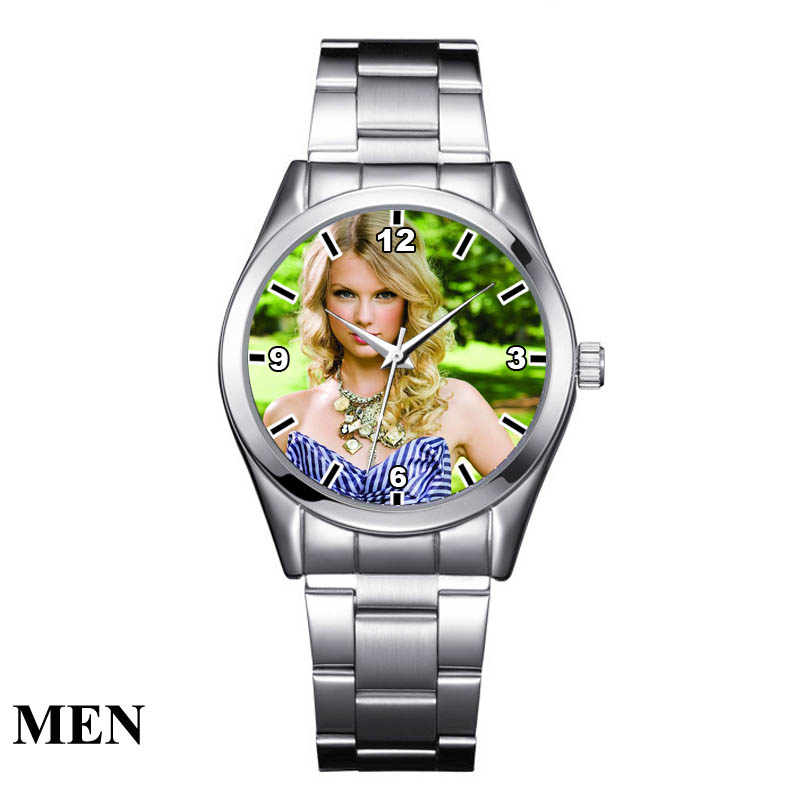 Image 5 - A3313 Cusrom logo Watch photo print Watches watch face Printing Wristwatch Customized Unique DIY Gift For lovers-in Lover's Watches from Watches