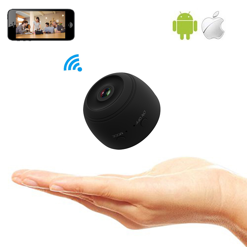 US $32 98 20% OFF|Mini Wifi Camera IP Wireless Cam Remote Control App  Support Motion Detection Wide Angle IR Night Vision Secret Support TF  Card-in