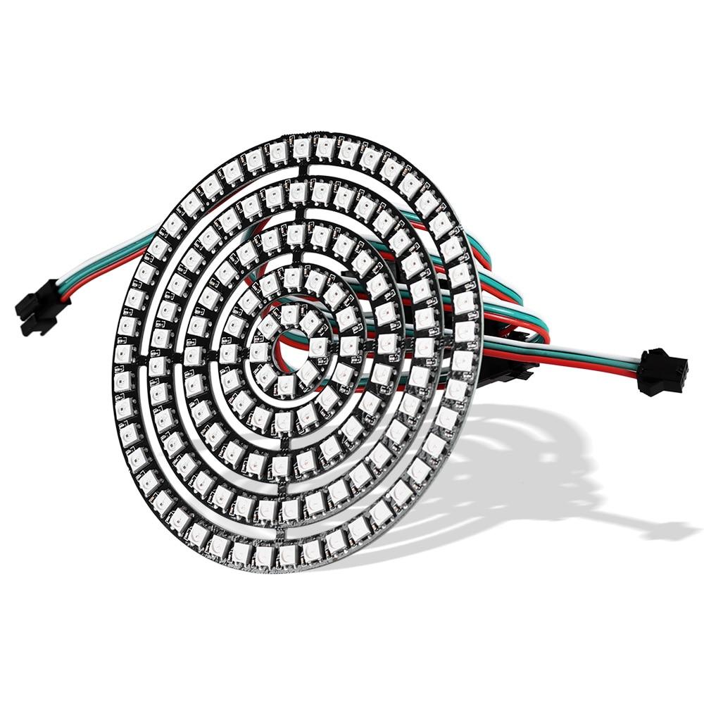 1pcs pixel rgb led ring 1bit 8bit 16bit 24bit 35bit 45bit ws2812 5050 rgb led module full color