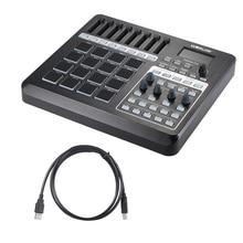 PANDA200 Портативный USB MIDI Pad контроллер 16 барабанные колодки с USB кабелем