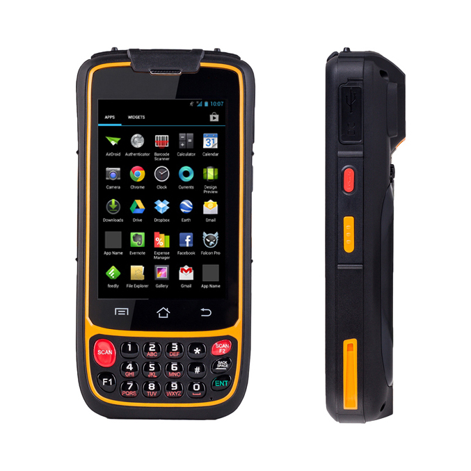 4G Android Mobile data collector pda terminal 2D 1D barcode reader wifi bluetooth for inventory management warehouse system inventory accounting