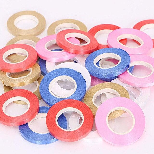 5 Pz/lotto 10 M Foil Palloncino Laser Nastro in Oro Rosa Palloncino Stringhe Partito & di Evento Forniture di Curling di Compleanno di Cerimonia Nuziale Del Partito decorazione 3